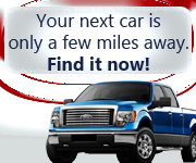 Your next car is only a few miles away. Find it now!